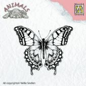Nellie Snellen - Animals Clear Stamp - Butterfly - ANI010